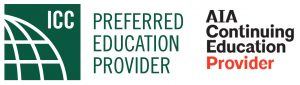 ICC and AIA Continuing Education Provider