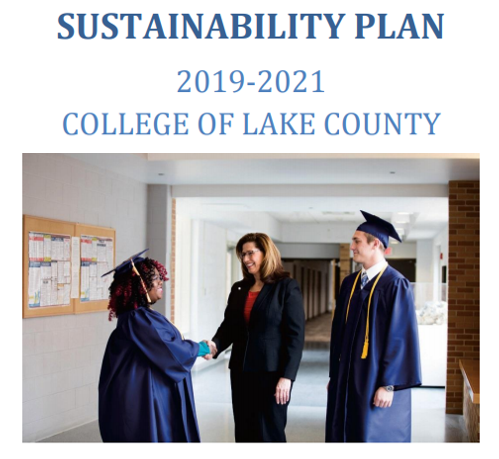 Capture of College of Lake County Sustainability Plan