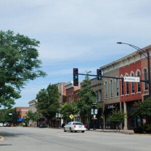 Downtown Urbana, IL
