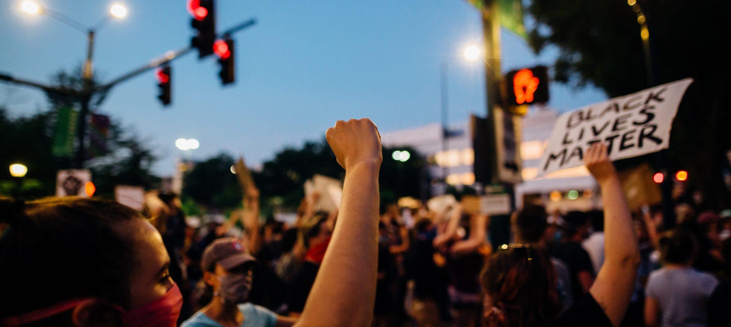 Image of Black Lives Matter protest