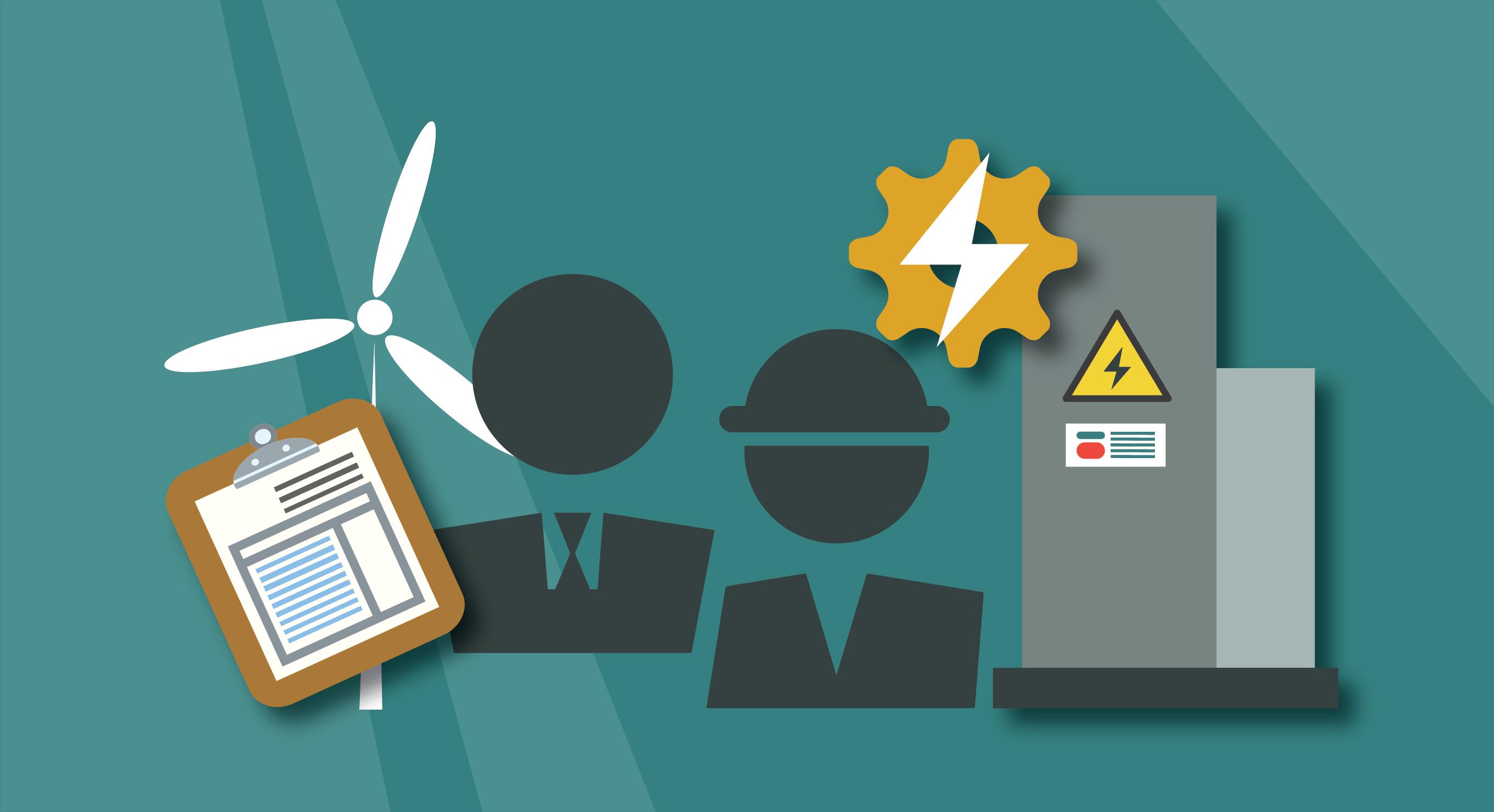 Energy efficiency workforce graphic